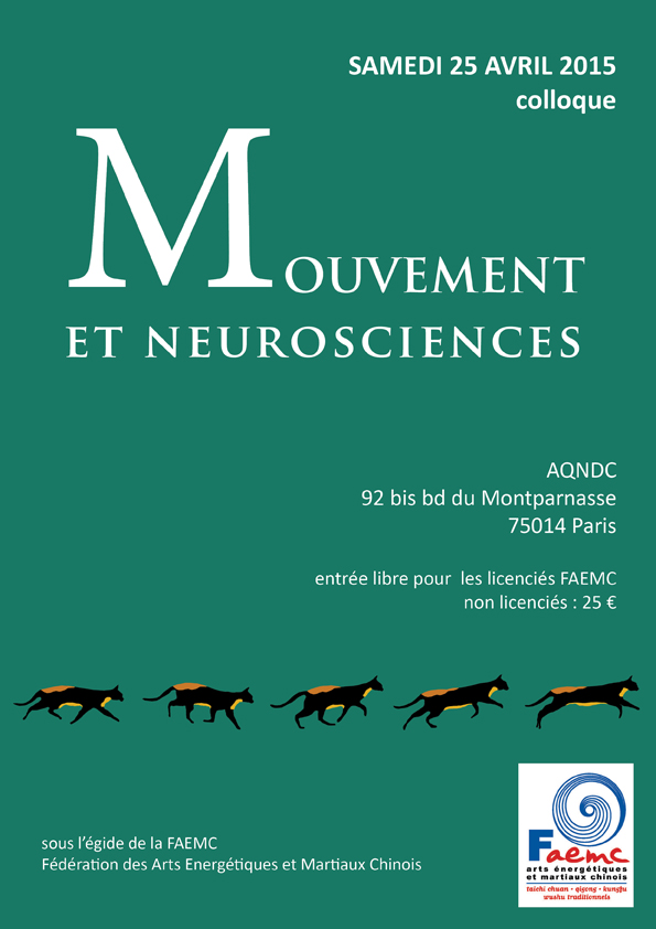 Colloque Mouvement et Neurosciences le 25 avril 2015